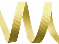 Tasiemka rypsowa 9mm beżowa złota 27,4m