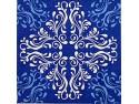 Serwetki Decoupage - Niebieskie ornamenty