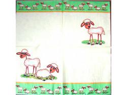 Serwetki Decoupage - Wielkanoc Baranki