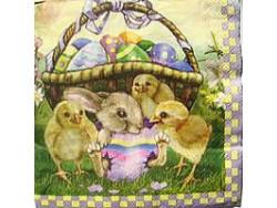Serwetki Decoupage - Kurczaczki