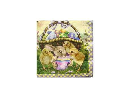 Serwetki Decoupage - Kwiatowy Haft