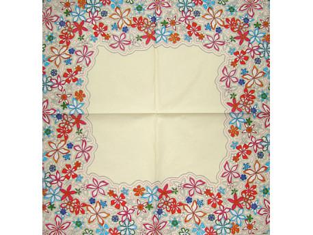 Serwetki Decoupage - Kwiatowy ornament