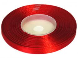 Wstążka satynowa 6mm - czerwona