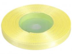 Wstążka satynowa 6mm - żółta jasna
