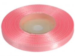 Wstążka satynowa 6mm - różowa jasna
