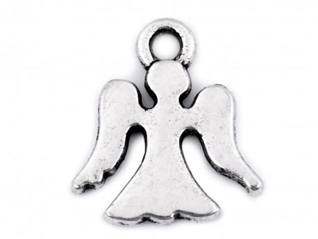Zawieszka metalowa anioł