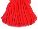Sznurek bawełniany 5mm czerwony 50m