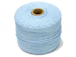 Sznurek bawełniany 2mm skręcany błękitny 300m