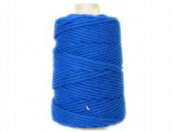 Sznurek bawełniany 3mm niebieski chabrowy 200m