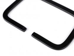 Ucho metalowe do torebki prostokątne 11cm