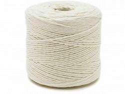 Sznurek 100% bawełniany skręcany 2mm ok. 300m