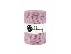 Sznurek bawełniany skręcany 5mm różowy brudny BOBBINY