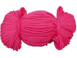 Sznurek poliestrowy 2mm różowy amarantowy 100m