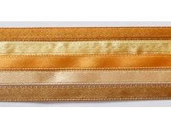 Zestaw Wstążek 6mm - Złoty