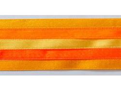 Zestaw Wstążek 6mm - Pomarańcza