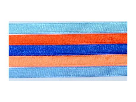 Zestaw Wstążek 6mm - Norweski Łosoś