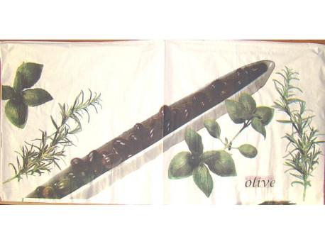 Serwetki Decoupage - Oliwki