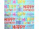 Serwetki Decoupage - Urodzinowe literki