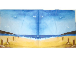 Serwetki Decoupage - Nadmorska plaża