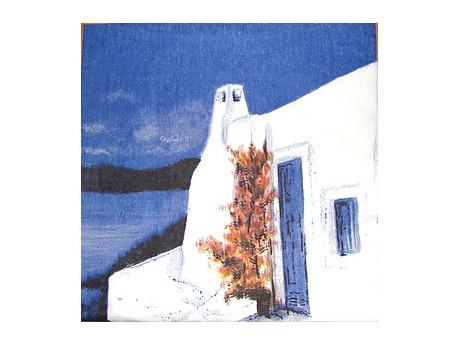 Serwetki Decoupage - Grecka Wyspa
