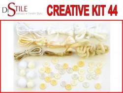 Lody Waniliowe - Zestaw Kreatywny 44 elementy