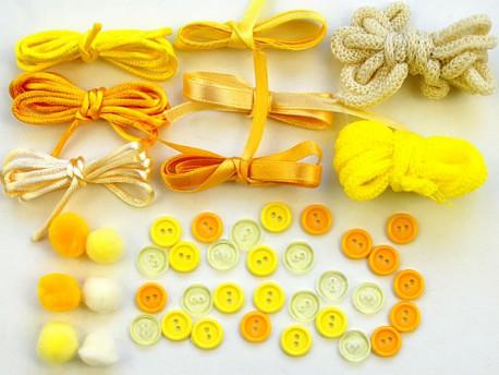 Cytrynowe Babeczki - Zestaw Kreatywny 44 elementy