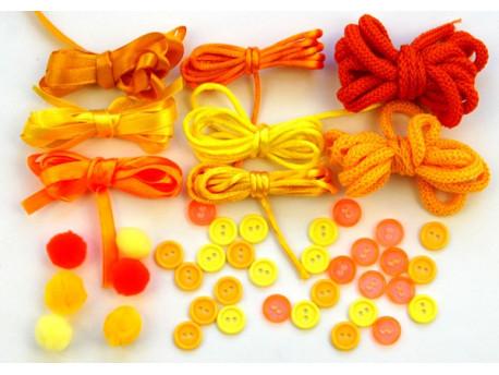 Soczyste Pomarańcze - Zestaw Kreatywny 44 elementy
