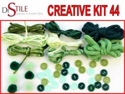 Zielony Fart - Zestaw Kreatywny 44 elementy